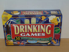 50 Drinking Games For Thirsty Throats-Cheatwell Games 2005-Complete Ex Condition
