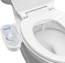 1-Pack Greenco Bidet Fresh Water Spray Non-Electric Mechanical Bidet Toilet Seat