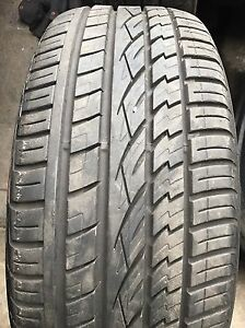 235 55 17   ( 1 TYRE ) CONTINENTAL BERY VERY  GOOD CONDITION SEE PHOTOS CHEAP $$