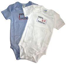 32 x Baby bodies remanentes de mercancías nuevas en su embalaje original 100% bio-algodón