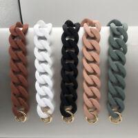 1PC Detachable Replacement Strap Acrylic Resin Chain Shoulder Bag Belt 30cm/41cm