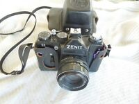 Zenit 11 35mm SLR Film Camera + Helios-44M-4 58mm