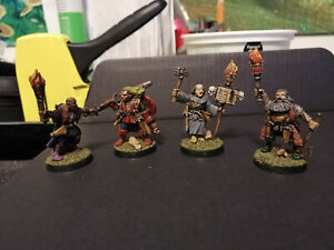 Mordheim Witch Hunter Painted Warband - Metal