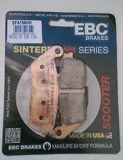 Bmw C600 (2012 y 2014) Ebc sinterizado Trasero Pastillas De Freno (sfa196hh) (1 Set)