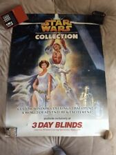 Rare Star Wars Poster Exclusively 3 Day Blinds Store Display Promo 48X36