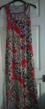 Heaven Sent Ladies Floor Length Maxi Dress Animal Print Multi Size 12