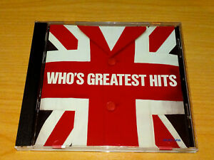 THE WHO'S GREATEST HITS CD 1983 VGC.