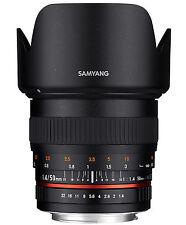 Samyang 50mm f1.4 AS UMC - CANON EF Full Frame Prime manual lens -NEW UK