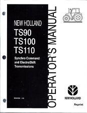 New Holland TS90, TS100, TS110  Tractor Operator's Manual