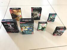 D&D 5E Spellbook Cards - Rpg/Jdr Lot De 7 Paquets