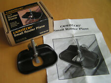 Veritas Small Router Plane, Model 05P38.50, Original Box and Instructions.