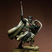 1/24 Scale 75mm Ancient Knight Figure Model Unpainted Garage Kits Warrior Statue
