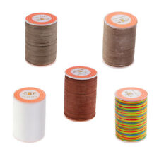 5Pcs 0.45mm Polyester Leather Sewing Waxed Thread Wax Cord For Leather DIY