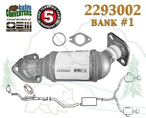 Direct Fit Catalytic Converter Bank 1 for PO420 Enclave Traverse Acadia Outlook
