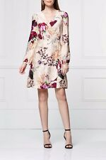 Next Multi Floral Wrap Dress 18T