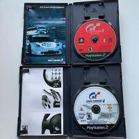 Gran Turismo 3 A-Spec & Gran Turismo 4 (PlayStation PS2 Two Game Bundle Lot)