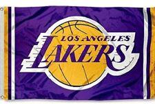 8396aebc088 Los Angeles Lakers Flag Large 3 X5  NBA Basketball FREE SHIPPING!