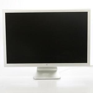 "Apple A1083 30"" Cinema HD Display Monitor Widescreen LCD No Power Supply #44223"