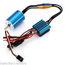 Surpass 2838 3600KV Sensorless Motor 35A Brushless ESC for 1 / 14 1 / 12 RC Car