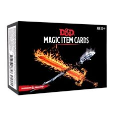 Dungeons & Dragons D&D 5E 5th Edition: Magic Item Cards (New)