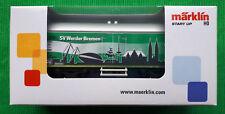 Märklin H0 44814 - 1 SV Werder Bremen Bundesliga Kühlwagen HO NEU OVP