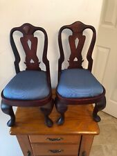 Lot 2 Dollhouse 12� Miniatures Furniture Dining Room Chairs Cushioned Seats