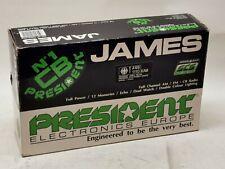 CB Funkgerät President Modell James NEU & original verpackt. Mit allem Zubehör