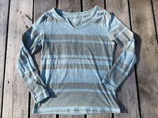 New listing Women's Time and Tru striped long sleeve top-size Small