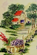 Pansies Retired (U get photo # 2)L@k@examples Art Impessions Rubber Stamps