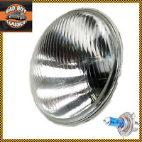 "7"" Halogen Headlight Headlamp For Motorcycle Universal + H4 Xenon Bulb HARLEY"