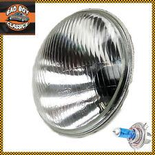 "7"" H4 Halogen Headlight Headlamp Motorcycle Universal CLASSIC NORTON BSA TRIUMPH"