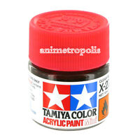 TAMIYA COLOR X-27 Clear Red Model ACRYLIC PAINT 10ml Free Shipping New In Stock