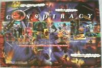 """CONSPIRACY Promo poster, 18"""" x 12"""", 1997, Unused, more in our store"""