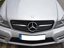 Mercedes W204 Classe C C180 C200 C220 C250 C350 Sport Calandre Grill Diamond Look
