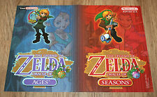 The Legend of Zelda Oracle of Ages Seasons & Pokemon small Poster 30x42cm
