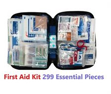 299 pc First Aid Kit Emergency Bag Home Car Outdoor, All Purpose Kit, Portable