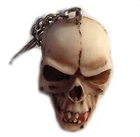 SKULL Totenkopf Vampir Vampyre - Schlüsselanhänger Keyring