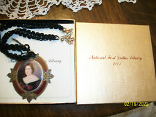 Mary Todd Lincoln Broach Necklace from First Ladies Library