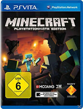 PS Vita Game Minecraft for Playstation PSV New