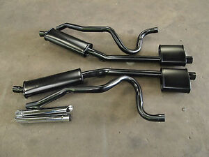 """FORD FALCON GT XW PHASE 2 EXHAUST KIT WITH 8"""" RESONATORS NEW ALSO FITS XR & XT"""