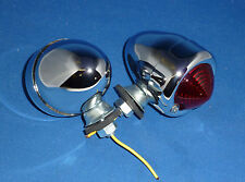 "Triumph BSA  Harley ""Classic"" Bullet Light Red Single  Element  Pair"