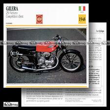 #017.15 GILERA 250 NETTUNO 1948 Fiche Moto Motorcycle Card