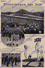 orig. Fotobericht Nürburgring Motorsport Eröffnungsrennen Auto Caracciola 1927
