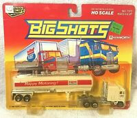 Road Champs Kenworth Big Shots Transport Truck Diecast Exxon 1990 HO Scale