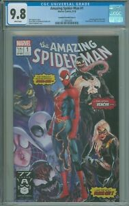 Amazing Spider-Man #1 CGC 9.8 NM/M Campbell Variant Cover A - 2018