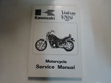 2001 2002 2003 2004 Kawasaki Vulcan VN750 Twin Motorcycle Service Manual NEW