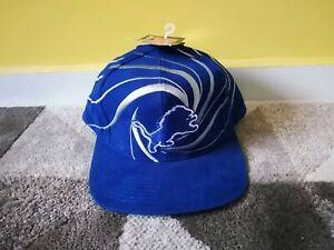 Vintage Detroit Lions 90s Rare Drew Pearson Snapback Hat