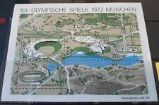 Germany Deutsche Bundespost. 1972 Olympic Games  MS  UM