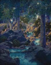 Parrish Maxfield Good Fishing Canvas 16 x 20   #3706