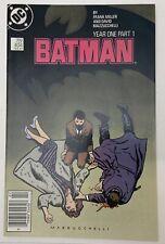 1987 DC Comics Batman #404 Batman Year One Part 1 VF